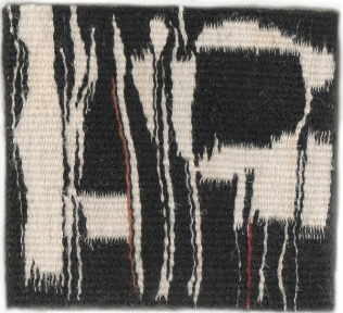 """The Hours. Wool & Linen. 5.25""""x5.5"""""""